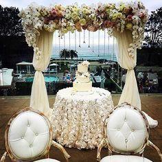 Say I do with a L'Auberge view🌊✨🌸 photo by: @dessertier #WeddingWednesday #LaubergeDelMarWeddings