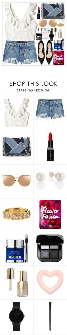 """style!!!"" by juhibeiber ❤ liked on Polyvore featuring Hollister Co., T By Alexander Wang, ALDO, Smashbox, Linda Farrow, Armenta, La Prairie, Stila, CLUSE and Old Navy"