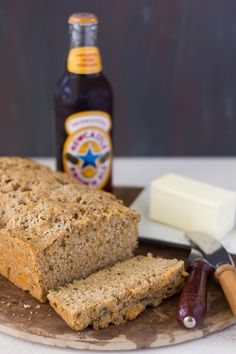 Cheese and Chives Beer Bread | Confessions of  a Bright-Eyed Baker