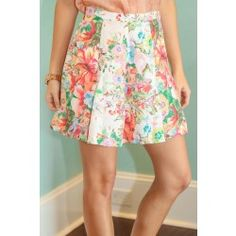 Pretty As A Posey Skirt - $42.00