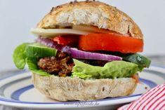 Szafi hamburger vega fasírttal