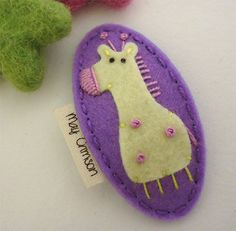 Hey, I found this really awesome Etsy listing at https://www.etsy.com/listing/160390430/no-slip-wool-felt-hair-clip-gemma-the