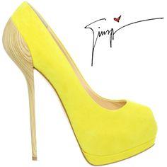 Giuseppe-Zanotti-peep-toe-pump-wooden-yellow