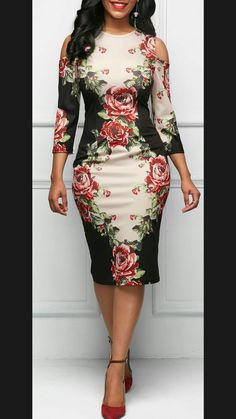 Hermoso vestido que modela la figura #dress #vestido