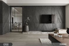 Stylish Luxury Living Room Design Ideas With Modern Home Accent Tv Feature Wall, Feature Wall Design, Tv Wall Design, Living Room Tv, Living Room Modern, Interior Design Living Room, Living Room Designs, Wallpaper For Living Room, Modern Hotel Room