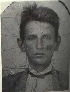 First known photo of Frank James, aged approximately 11 or 12.