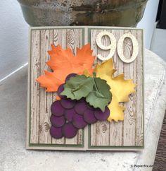 Karte zum 90. Geburtstag für einen Weinliebhaber