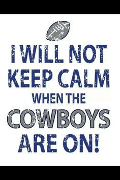 I Will Not Keep Calm When the Broncos are on! Denver Broncos T-Shirt Dallas Cowboys Football, Go Broncos, Seahawks Football, Broncos Fans, Seattle Seahawks, Cowboys 4, Bronco Football, Football Team, Cowboys Memes