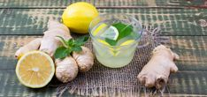 Domácí zázvorová limonáda snadno a rychle