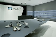 MOSTIP shoe shop by EASTERN Design Office, Shiga Japan