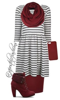 A fashion look from January 2016 featuring stripe dresses, River Island and heeled ankle boots. Browse and shop related looks. Apostolic Clothing, Apostolic Fashion, Apostolic Style, Modest Clothing, Pentecostal Clothing, Women's Clothing, Cute Fashion, Modest Fashion, Fashion Outfits