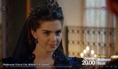Muhteşem Yüzyıl 116. Bölüm 1. Fragman fotoğrafları (screen captures) - Pelin Karahan (Mihrimah Sultan)