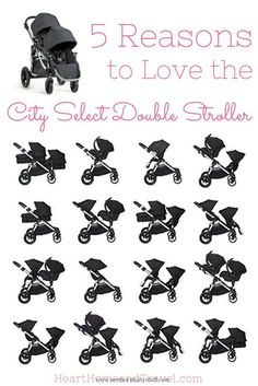 Baby Accessories The City Select Double Stroller is perfect for the growing f...