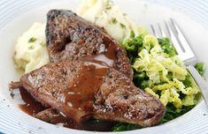 Bor És Vad - Fokhagymás szarvasmáj furmintmártással Meatloaf, Steak, Recipes, Food, Recipies, Essen, Steaks, Meals, Ripped Recipes