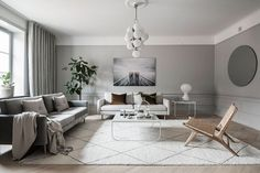 Tour a Serene and Spacious Stockholm Home with a Modern Chic Style - NordicDesign