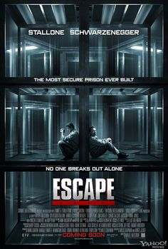 First Poster for Schwarzenegger and Stallone's ESCAPEPLAN - News - GeekTyrant