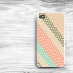 Striped Chevron iPhone 5s Case / iPhone 5 Case / by LovelyCaseCo, $18.00