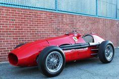 Art Appreciation: Ferrari 500 Formula 2