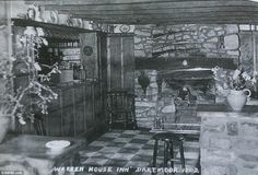 This image dating back to the mid 1960s shows that the decor of the pub has only changed s...