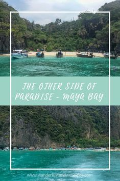 The Other Side Of Paradise - You can't deny that Koh Phi Phi is one of the most beautiful places on earth but recently Maya Bay has made the news for all the wrong reasons. Maya, Vacation Planner, Family Days Out, Greatest Adventure, The Other Side, Adventure Is Out There, Amazing Destinations, Southeast Asia, Where To Go