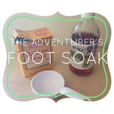 The Adventurer's Foot Soak. I just tried this and my feet instantly feel softer.
