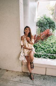 Oahu, Hawaii, Wrap Dress, Bohemian, Dresses, Style, Fashion, Vestidos, Swag
