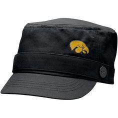 Nike Iowa Hawkeyes Ladies Black Cadet Hat
