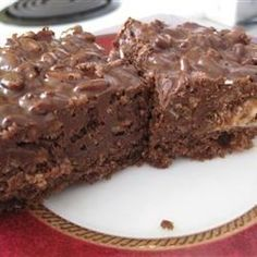 Double Chocolate Crumble Bars - Allrecipes.com