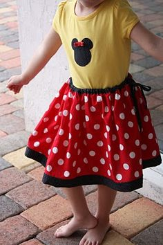 For the someday daughter on our someday Disneyworld trip.  :)