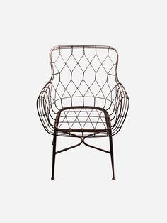 Cadeira de Ferro Shazan - Collector55                              …