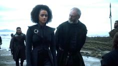 """Missandei & Davos (7x3 """"The Queen's Justice"""")"""
