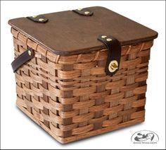 Hand Woven Amish Bonnet Box