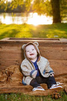 Happy bear baby.  #babyphotography #grandrapidsbabyphotographer #grandrapidsphotographer #grandrapidsfamilyphotographer