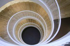 Helsinki, University Library #Helsinki #Architecture #AnttinenOiva