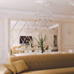 Interior design Wall Mirror Gold Dining Rooms 39 Ideas For 2019 Shadowing Dining Room Wall Decor, Living Room Mirrors, Dining Room Design, Dining Rooms, Mirror Bedroom, Bedroom Decor, Wall Design, House Design, Decoration
