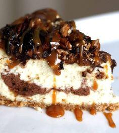 Recipe For Suzettes Ultimate Turtle Cheesecake
