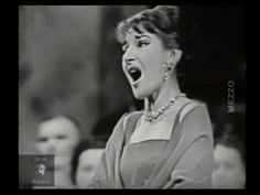 1000 images about maria callas on pinterest maria callas opera and bellinis - Casta diva youtube ...