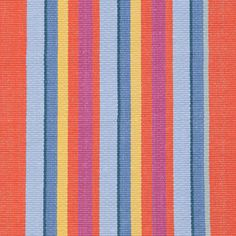 Tigerlily Stripe Woven Cotton Rug