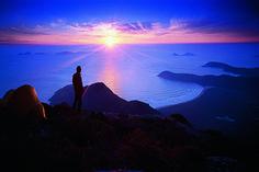 View from Mt Oberon at Sunset #WilsonsProm #Bunyiptours #followthebunyip