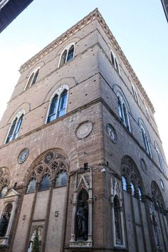 Firenze Orsanmichele Brooklyn Bridge, Italy Travel, San Francisco Ferry, Building, Buildings, Architectural Engineering, Tower