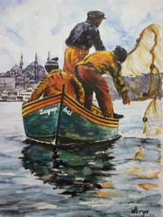 #Watercolor  #istanbul