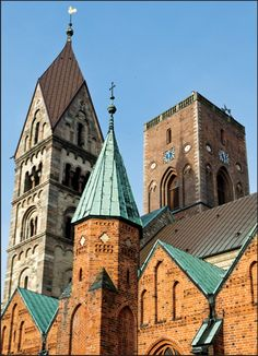 RIBE CATHEDRAL RIBE, DENMARK The medieval town of Ribe is centered on its magnificent cathedral, the oldest in Denmark. But in late March, c...