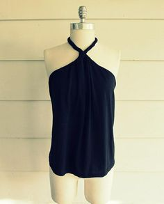 DIY Sewing : DIY WobiSobi: No Sew DIY Tee-Shirt Halter