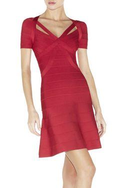 Little red dress / karen cox. Long Summer Dresses, Evening Dresses, Pink Fashion, Fashion Outfits, Little Red Dress, Dress Red, Dress Websites, Herve Leger Dress, Tight Dresses