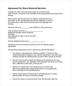 Printable Sample Lawn Service Contract Form  Laywers Template Forms Online  Lawn service Lawn