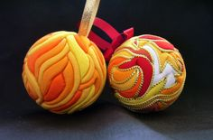 Lots of others and Easter as well... Kimekomi Fabric Ornaments