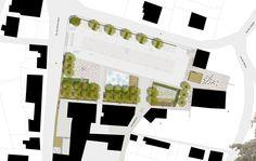 Regeneration of the square Matilde di Canossa, Reggio nell'Emilia, 2010 - S.B.ARCH. BARGONE ASSOCIATI, Federico Bargone