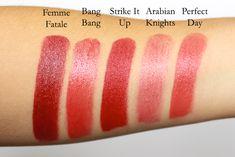 Ilia Beauty Strike It Up Lipstick Review Swatches #iliabeauty #redlips #redlipstick