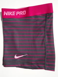 New M Nike Pro Core 2 5 Grey Fuchsia Womens Dri Fit Compression Shorts Med Nike Pro Spandex, Nike Pro Shorts, Nike Shoes Cheap, Nike Free Shoes, Nike Shoes Outlet, Running Shoes Nike, Cheap Nike, Nike Outfits, Cheer Outfits