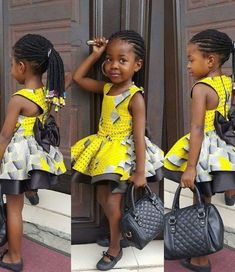 Kids Dresses 2019 : How to Stylishly Dress Your Kids For Events ShweShwe 1 Ankara Styles For Kids, African Dresses For Kids, African Babies, Trendy Ankara Styles, African Children, African Clothes, African Print Fashion, African Fashion Dresses, African Attire